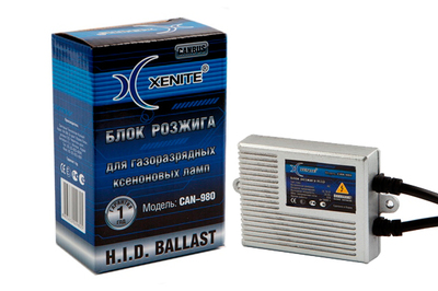 Блок розжига ксенона XENITE CAN-980 (ВСТРОЕННАЯ ОБМАНКА)
