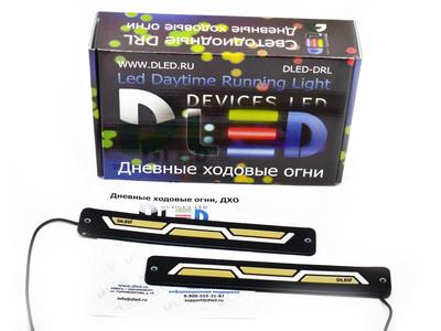Дневные ходовые огни DRL-106 (гибкие) с поворотом
