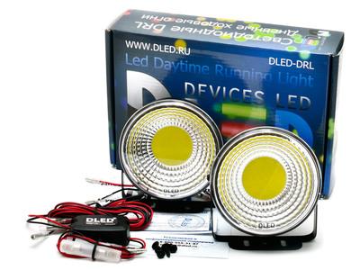 Дневные ходовые огни DRL-114 COB 2x3W