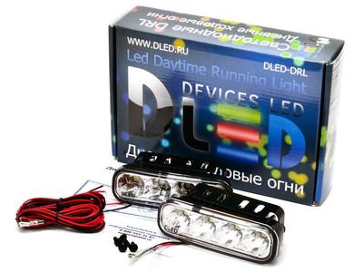 Дневные ходовые огни DRL-130 SMD5050 2x2W