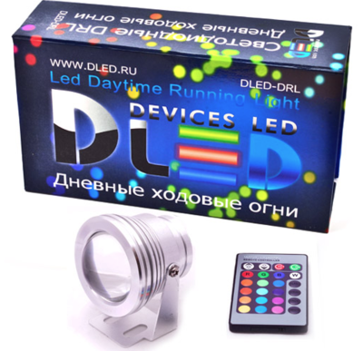 Дневные ходовые огни DRL-67 RGB High-Power 10W