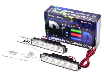 Дневные ходовые огни DRL-7 S-Flux 3W
