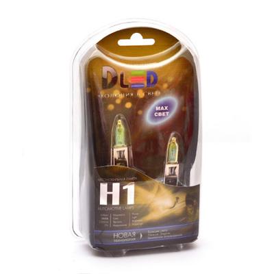 Газонаполненные лампы H1 DLED Evolution Yellow 2300K