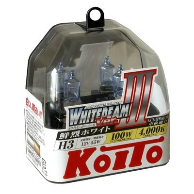 Газонаполненные лампы H3 - Koito Whitebeam     4000K