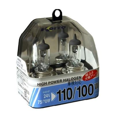 Газонаполненные лампы H4 - Koito Whitebeam HP 24Вт