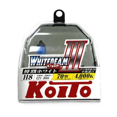 Газонаполненные лампы H8 - Koito Whitebeam     4000K