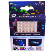 Панель в салонный светильник 24 Led Super-Flux