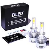 Светодиодная авто лампа H1 - PREMIUM X5 37Вт (Комплект)