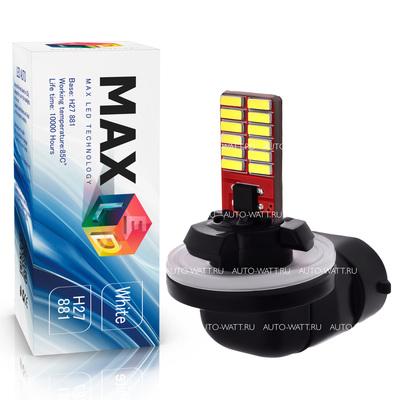 Светодиодная авто лампа H27 881 - Max-Visiko 24 Led 5Вт