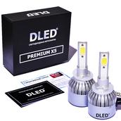 Светодиодная авто лампа H27 881 - PREMIUM X5 37Вт (Комплект)