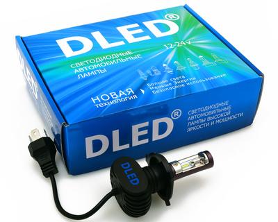Светодиодная авто лампа H4 - OPTIMA 20Вт (Комплект)