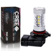 Светодиодная авто лампа HB3 9005 - 16 CREE Линза 80Вт