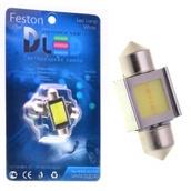Светодиодная авто лампа C5W 31 мм - 1 COB 2Вт Белая