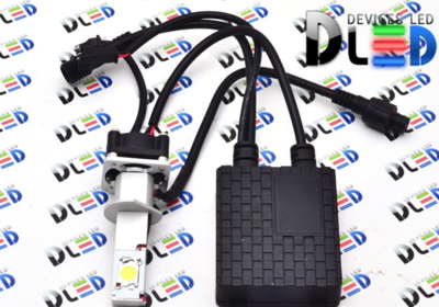 Светодиодная авто лампа H1 - 2 CREE 20Вт DLED