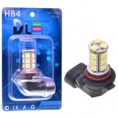 Светодиодная авто лампа H10 - 18 SMD5050 4.32Вт DLED