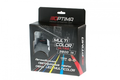 Светодиодная авто лампа H10 - Optima Multi Color Ultra