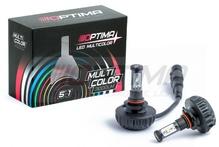 Светодиодная авто лампа H10 - Optima Multi Color