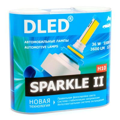 Светодиодная авто лампа H10 - Sparkle 2 36Вт