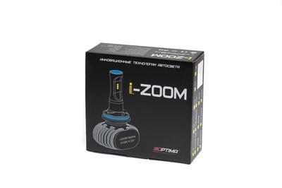 Светодиодная авто лампа H8 - Optima LED i-ZOOM 5100K Белая