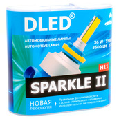 Светодиодная авто лампа H11 - Sparkle 2 36Вт