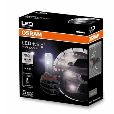 Светодиодная авто лампа H11/Н8 -OSRAM LEDriving FOG LAMP 13W 6000K