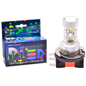 Светодиодная авто лампа H15 - 10 CREE 50Вт DLED