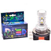 Светодиодная авто лампа H15 - 10 EPISTAR 50Вт DLED