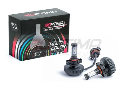 Светодиодная авто лампа H16 - Optima Multi Color