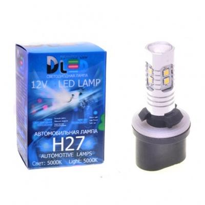 Светодиодная авто лампа H27 880 - 10 SAMSUNG 10Вт DLED