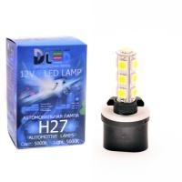 Светодиодная авто лампа H27 880 - 13 SMD5050 3.16Вт DLED