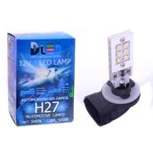Светодиодная авто лампа H27 881 - 12 SAMSUNG 12Вт DLED