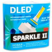 Светодиодная авто лампа H27 881 - Sparkle 2 36Вт