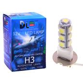 Светодиодная авто лампа H3 - 13 SMD5050 3.12Вт DLED