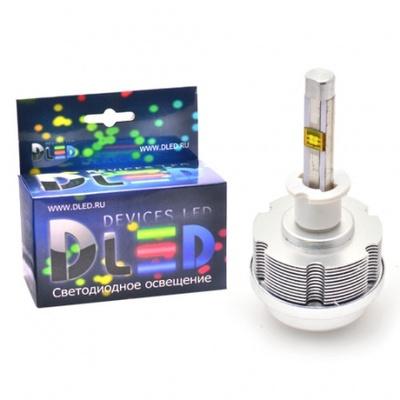 Светодиодная авто лампа H7 - 2 CREE ETI 30Вт DLED