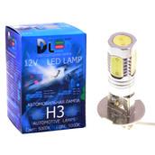 Светодиодная авто лампа H3 - 4 High-Power 5Вт DLED