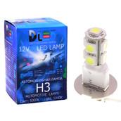 Светодиодная авто лампа H3 - 9 SMD5050 2.16Вт DLED