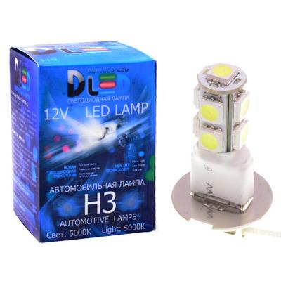 Светодиодная авто лампа H3 - 9 SMD5050 2.16Вт