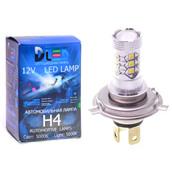 Светодиодная авто лампа H4 - 16 EPISTAR 80Вт DLED