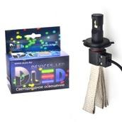 Светодиодная авто лампа H4 - 2 CREE Braid 20Вт DLED