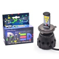 Светодиодная авто лампа H4 - 5 CREE HL 50Вт DLED