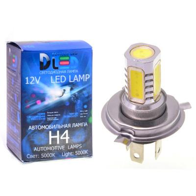 Светодиодная авто лампа H4 - 5 High-Power 7.5Вт DLED