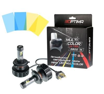 Светодиодная авто лампа H4 - Optima Multi Color Ultra