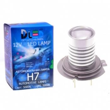 Светодиодная авто лампа H8 - 1 High-Power 5Вт DLED