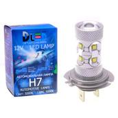 Светодиодная авто лампа H7 - 10 CREE 50Вт DLED