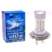 Светодиодная авто лампа H7 - 16 EPISTAR 80Вт DLED