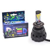 Светодиодная авто лампа H7 - 5 CREE HL 50Вт DLED