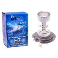 Светодиодная авто лампа H7 - 6 CREE 30Вт DLED