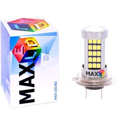 Светодиодная авто лампа H7 - Max-Hill 66 Led 16Вт