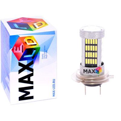 Светодиодная авто лампа H7 - Max-Visiko 92 Led 18Вт