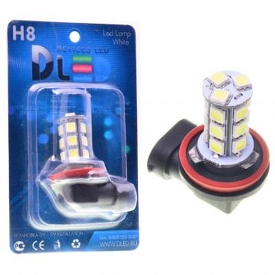 Светодиодная авто лампа H11 - 18 SMD5050 4.32Вт DLED